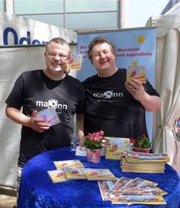 """Foto des Duos """"ma2nn"""" mit Christian Herrmann und Florian Scholz"""