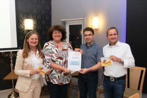 Foto der Spendenübergabe zum Rotary Club Schwetzingen-Kurpfalz Förderpreis 2018